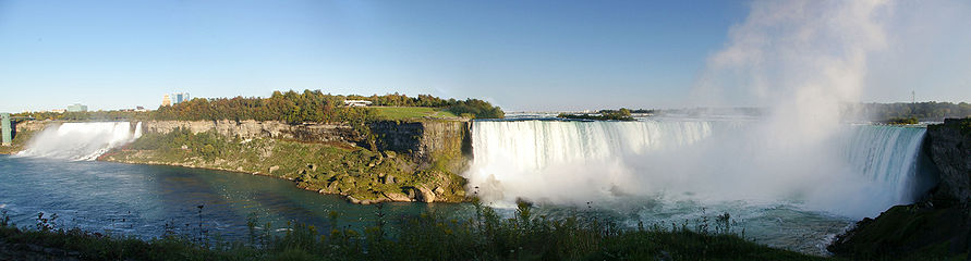 Ниагарский водопад niagara falls